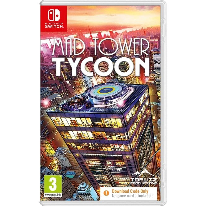 Mad Tower Tycoon Switch