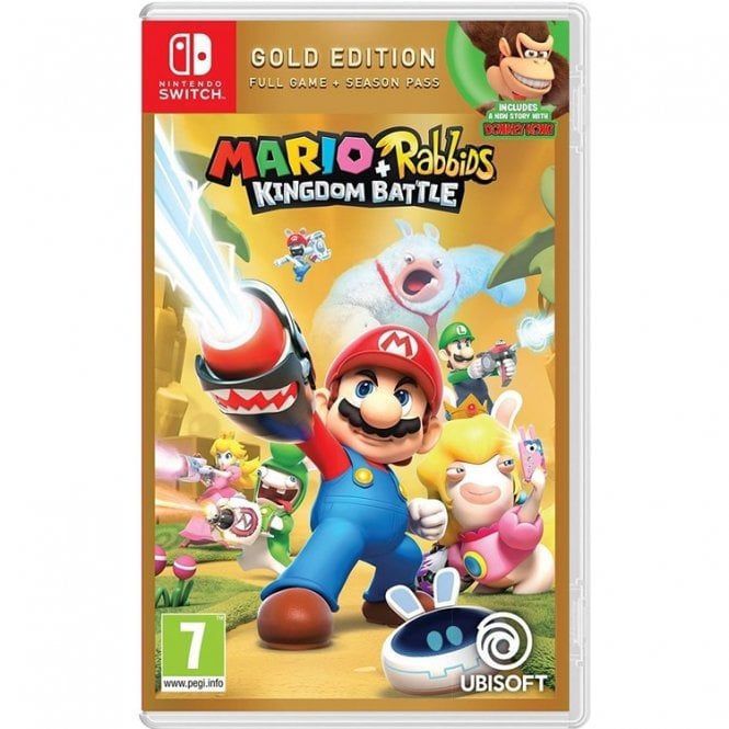 Mario & Rabbids Kingdom Battle Gold Edition Switch