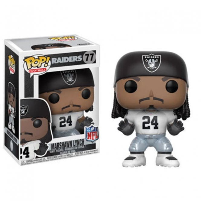 Marshawn Lynch Oakland Raiders Away POP! Vinyl