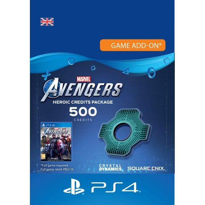 Marvel Avengers Heroic Credits Pack