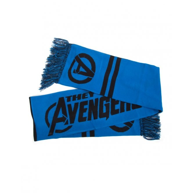 Marvel Avengers They're The Avengers Blue With Black Scarf