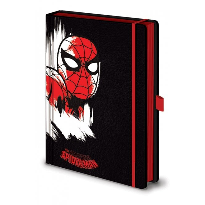 Marvel Retro Spiderman Mono A5 Notebook