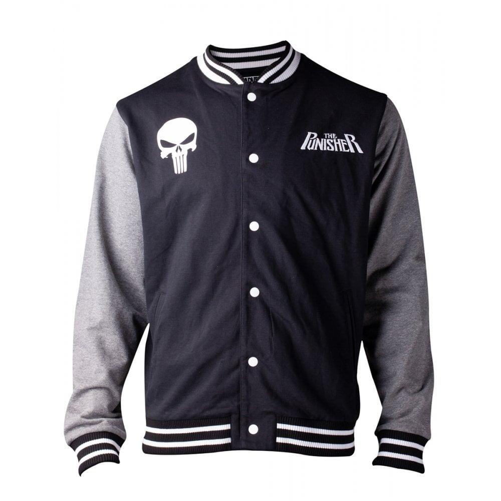 Marvel The Punisher Men's Varsity Jacket