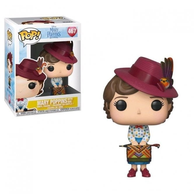 Mary Poppins Mary with Bag POP! Vinyl