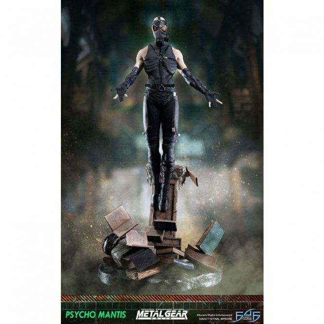 Metal Gear Solid Statue Psycho Mantis