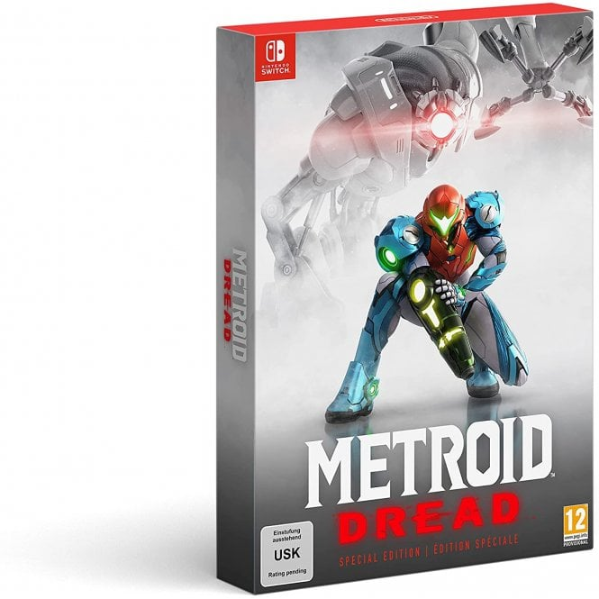 Metroid Dread Special Edition Switch