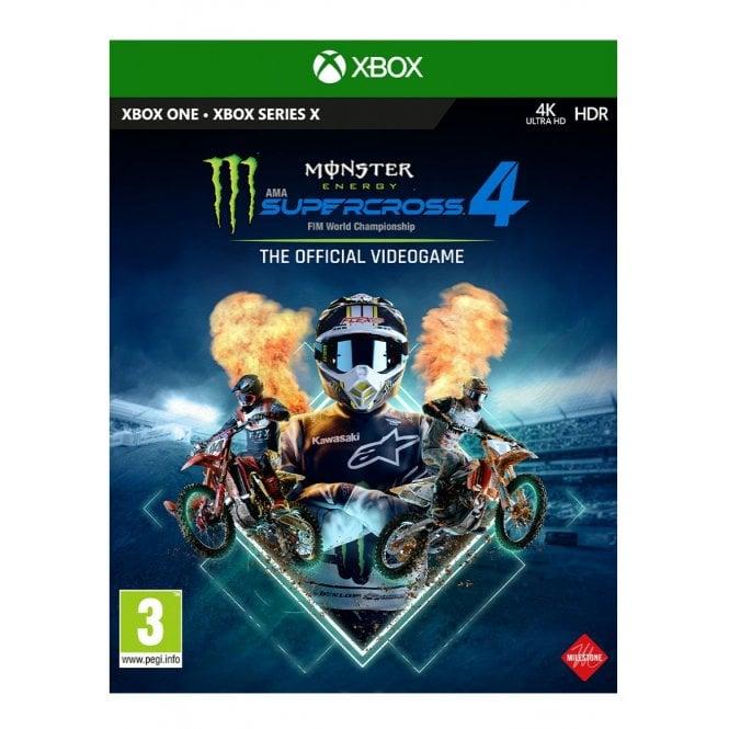 Monster Energy Supercross 4 Xbox
