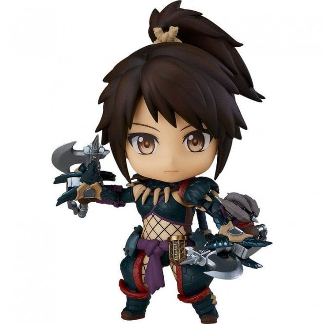 Monster Hunter World Iceborne Nendoroid Hunter Female Nargacuga Alpha Armor Ver. DX