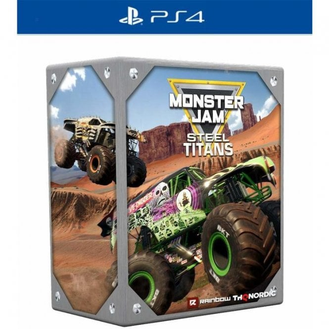 Monster Jam Steel Titans Collectors Edition PS4