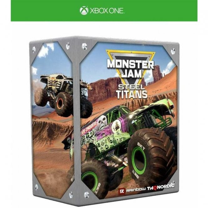 Monster Jam Steel Titans Collectors Edition Xbox