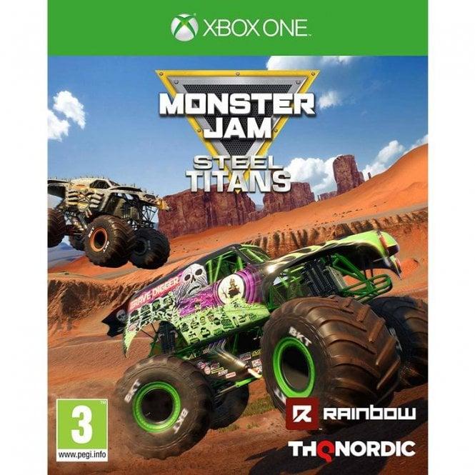 Monster Jam Steel Titans Xbox