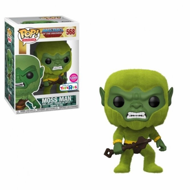 Moss Man Flocked Exclusive Flocked POP! Vinyl