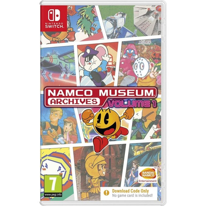 Namco Museum Archives Volume 1 Switch