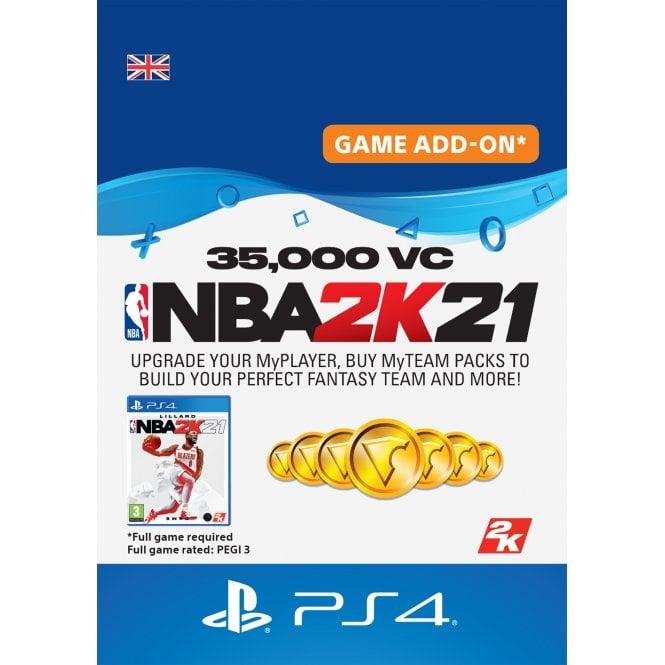 NBA2K 21 35,000 VC
