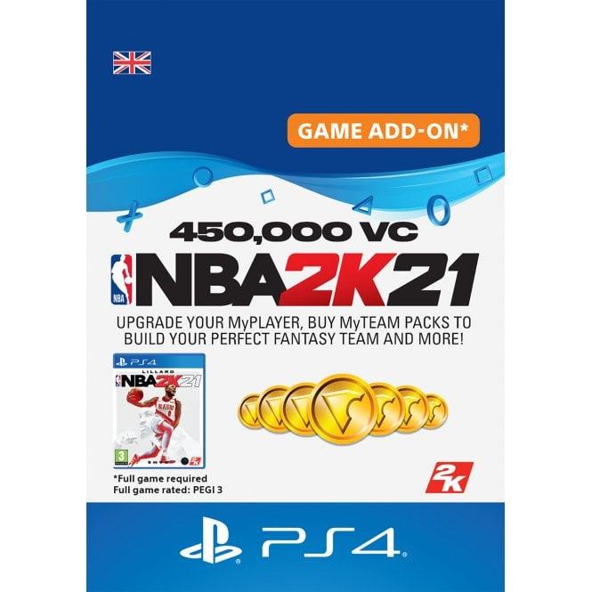 NBA2K 21 450,000 VC