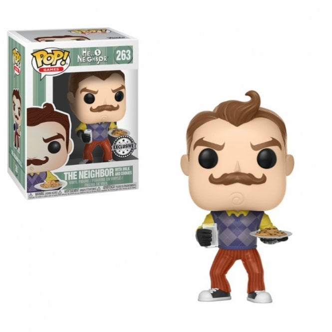 Neighbor with Milk & Cookies Exclusive POP! Vinyl
