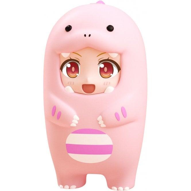 Nendoroid More Face Parts Case Pink Dinosaur