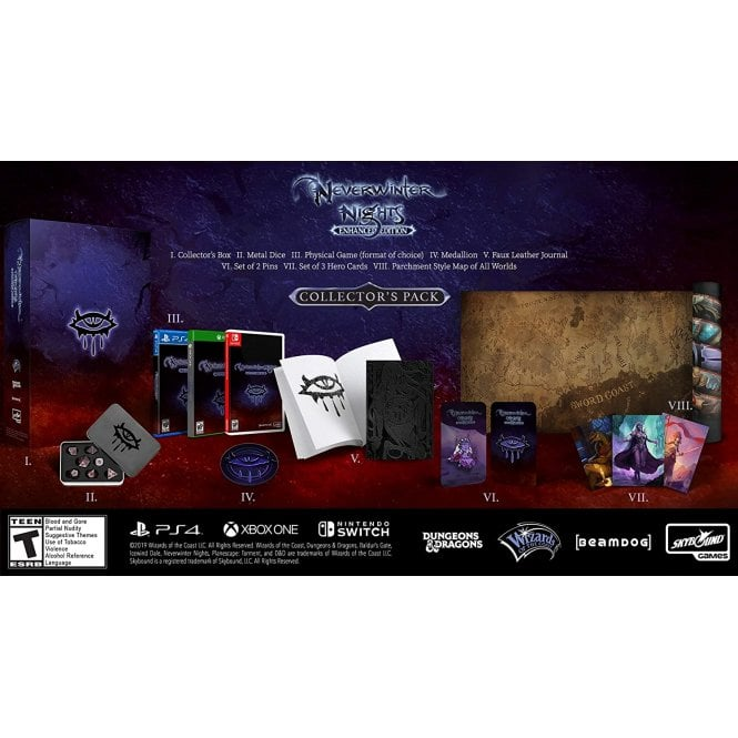 Neverwinter Nights Enhanced Edition Collector's Pack Switch