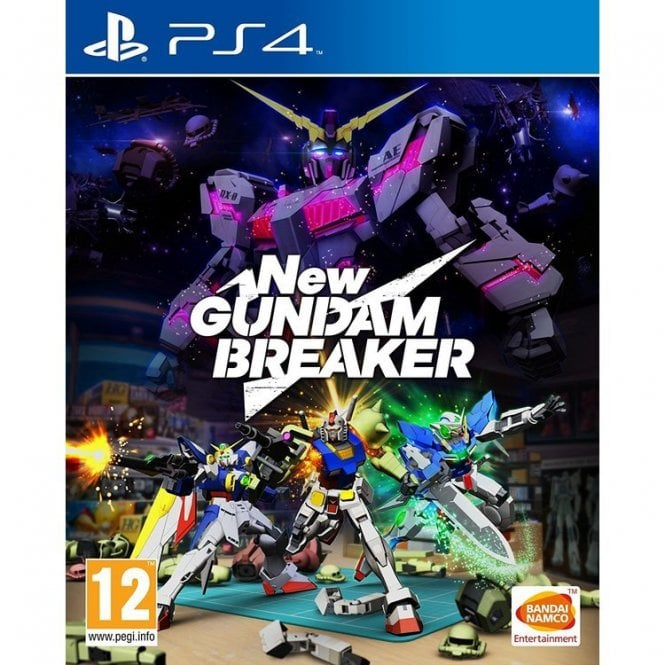 New Gundam Breaker PS4