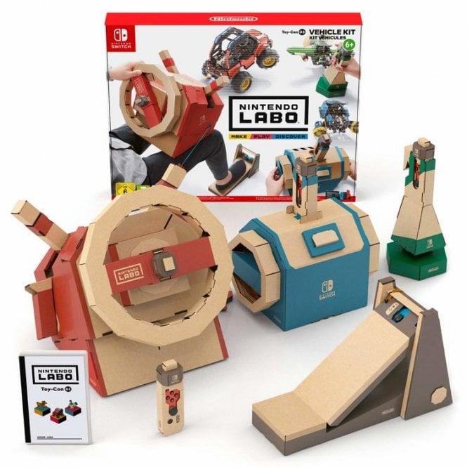 Nintendo LABO Toy-Con 03 - Vehicle Kit