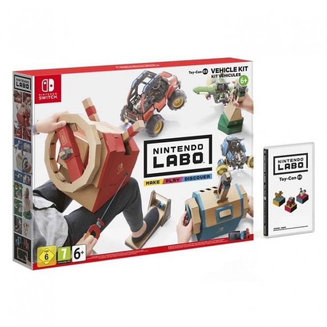 Nintendo LABO Vehicle Kit Toy-Con 03 Switch