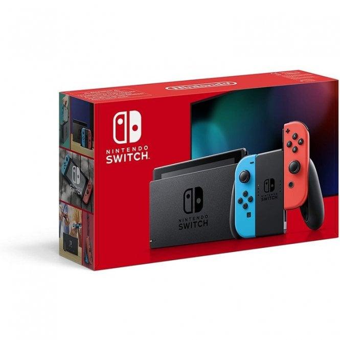 Nintendo Switch 1.1 Neon Red & Neon Blue