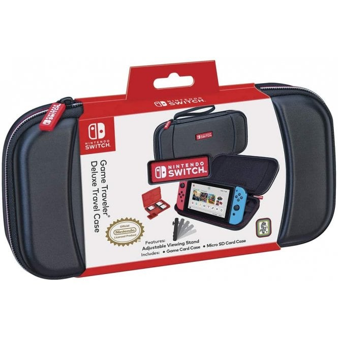 Nintendo Switch Black Deluxe Travel Case
