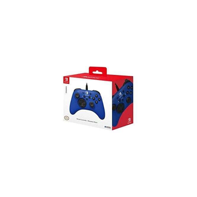Nintendo Switch Blue Wired Controller