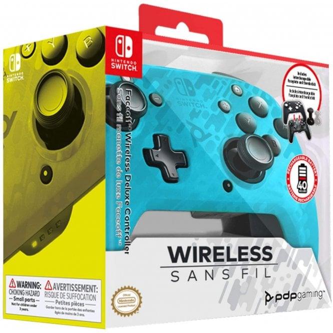 Nintendo Switch Blue Wireless Controller