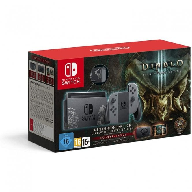Nintendo Switch Diablo 3 Limited Edition Bundle