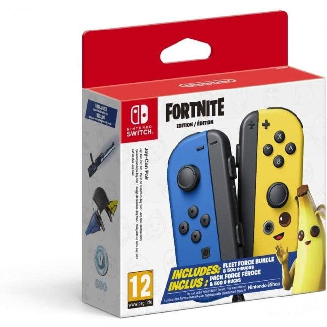 Nintendo Switch Fortnite Joy Con's