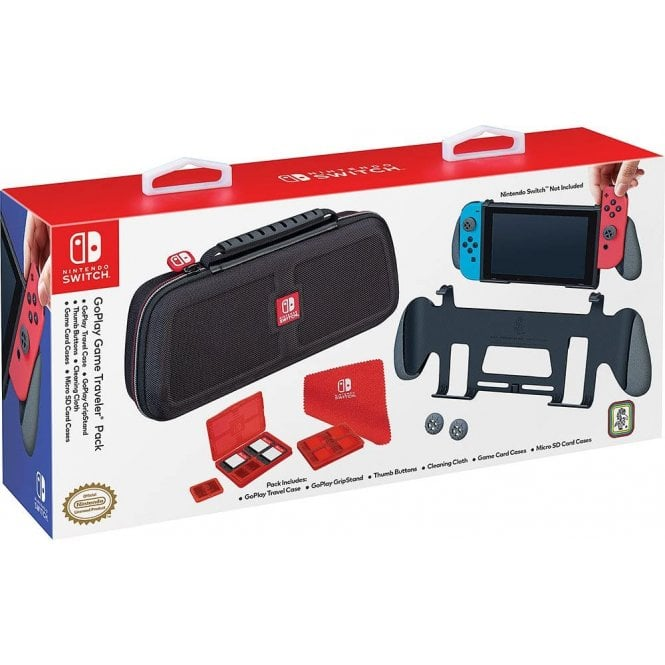 Nintendo Switch Gripstand & Travel Case