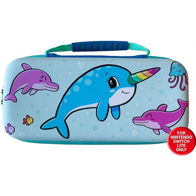 Nintendo Switch Lite Narwhal Case