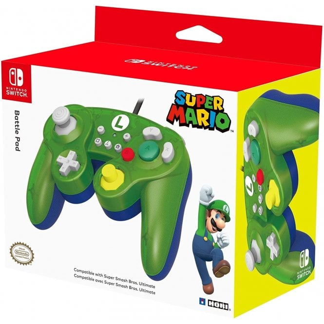 Nintendo Switch Luigi Battle Pad