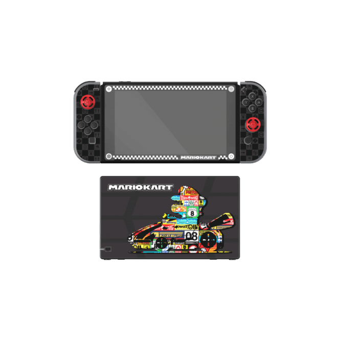 Nintendo Switch Mario Kart Play & Protect Screen Protection & Skin