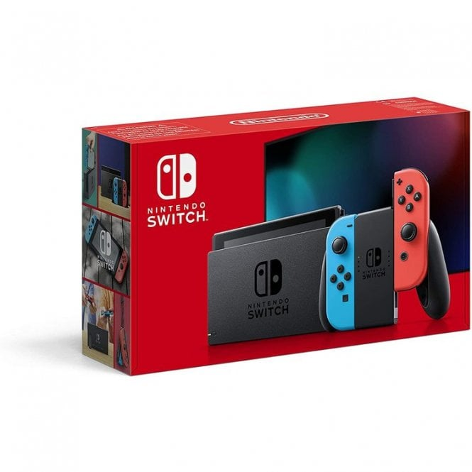 Nintendo Switch Neon Console with £30 Nintendo eShop Voucher