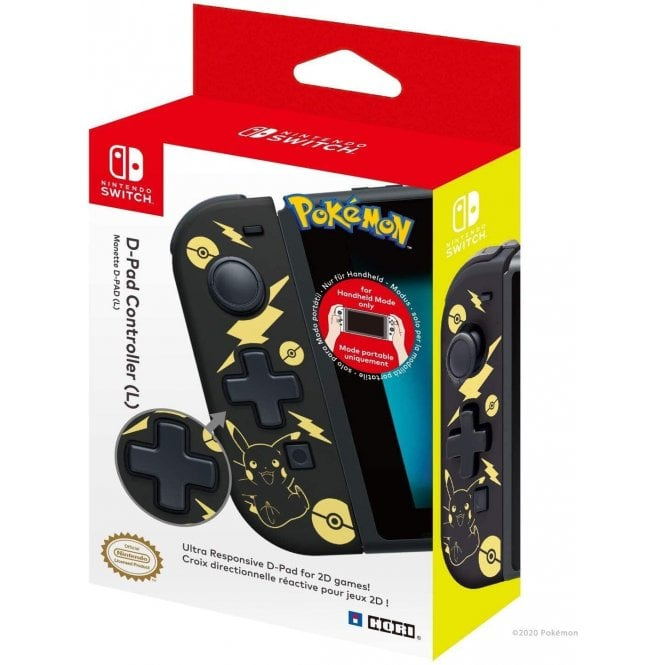 Nintendo Switch Pikachu D-Pad Controller