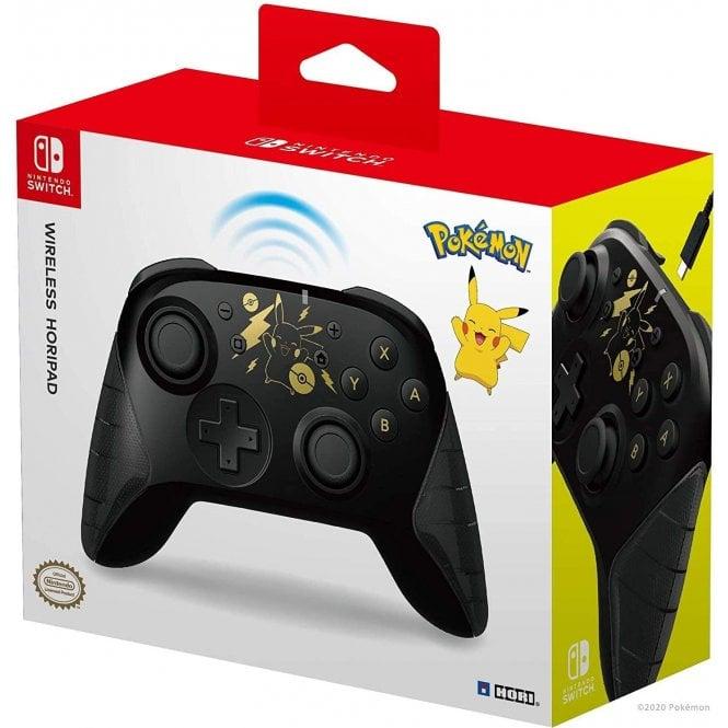 Nintendo Switch Pikachy Black Wireless Pad