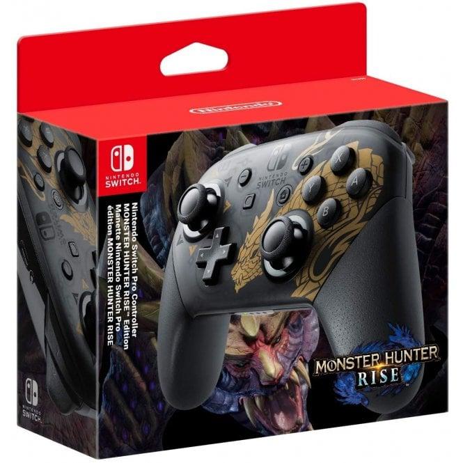 Nintendo Switch Pro Controller Mosnter Hunter Rise Ver.