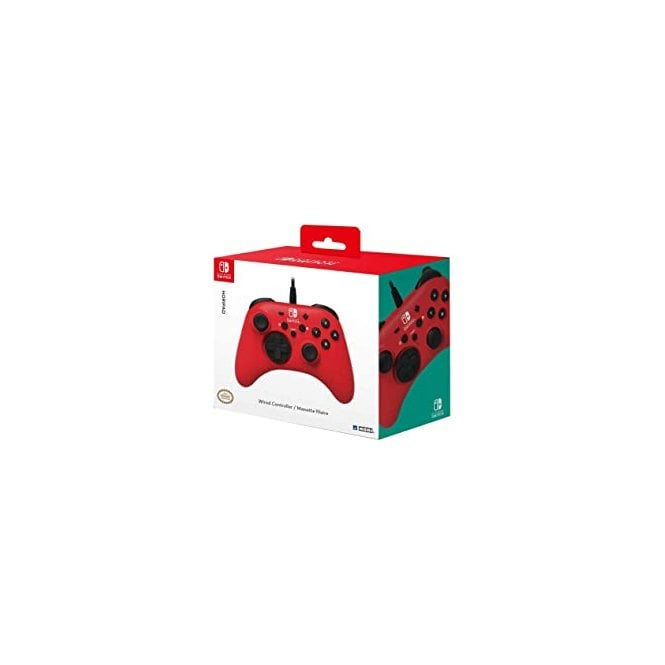 Nintendo Switch Red Wired Controller