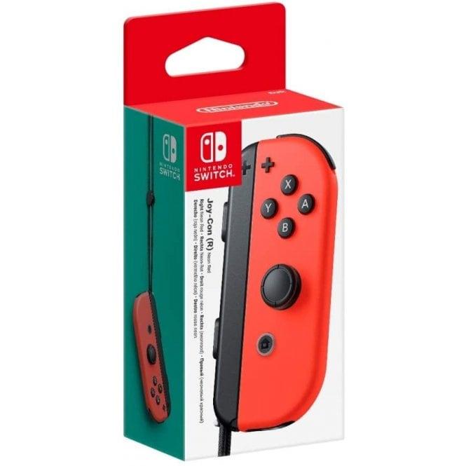 Nintendo Switch Right Joy-Con Neon Red