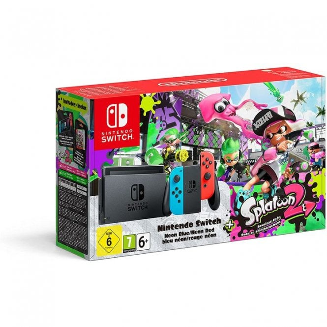 Nintendo Switch Splatoon 2 Limited Edition Bundle