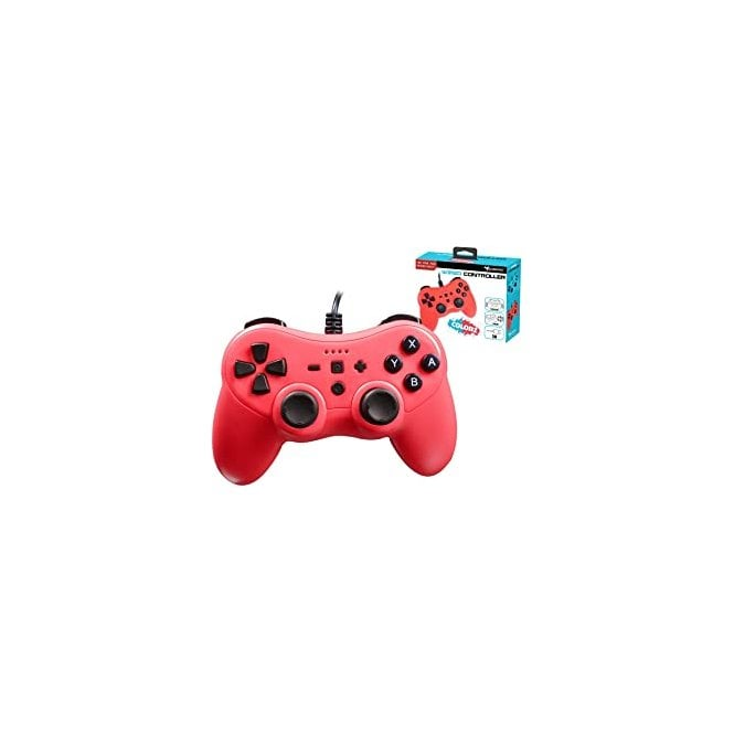 Nintendo Switch Subsonic PRO-S Red Colorz Wired Controller