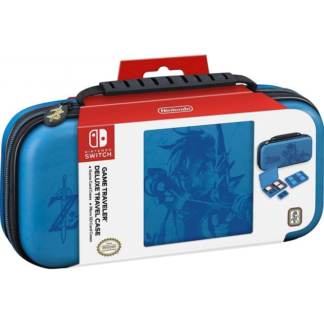 Nintendo Switch The Legend of Zelda Blue Travel Case