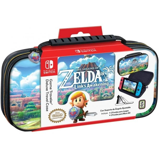 Nintendo Switch The Legend of Zelda Link's Awakening Travel Case