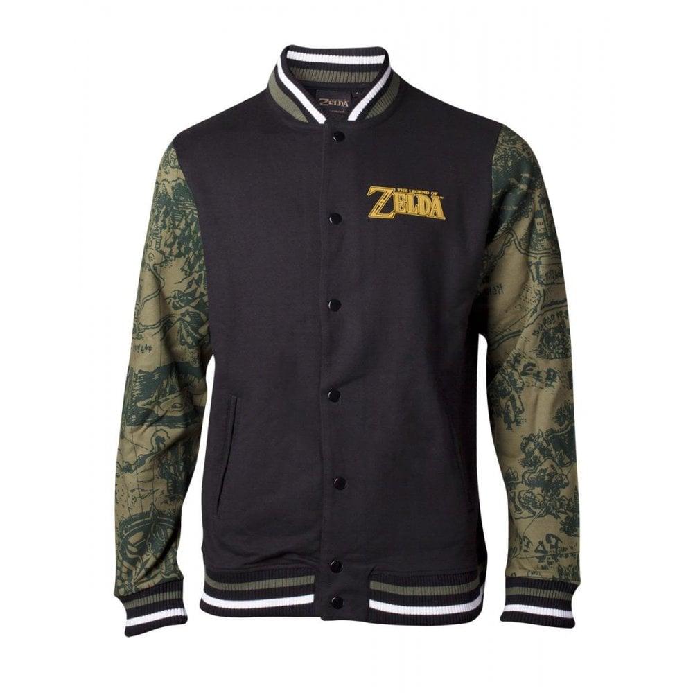 Nintendo Zelda Legendary Men's Varsity Jacket