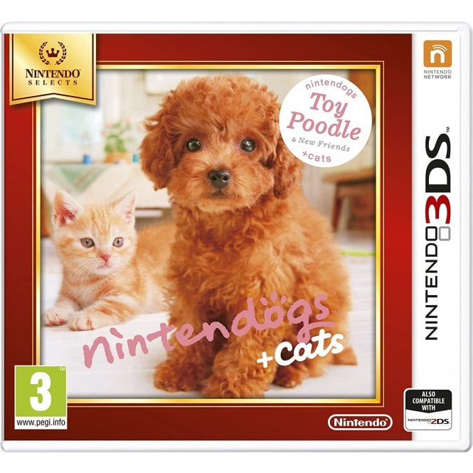 Nintendogs Poodle Nintendo Selects 3DS