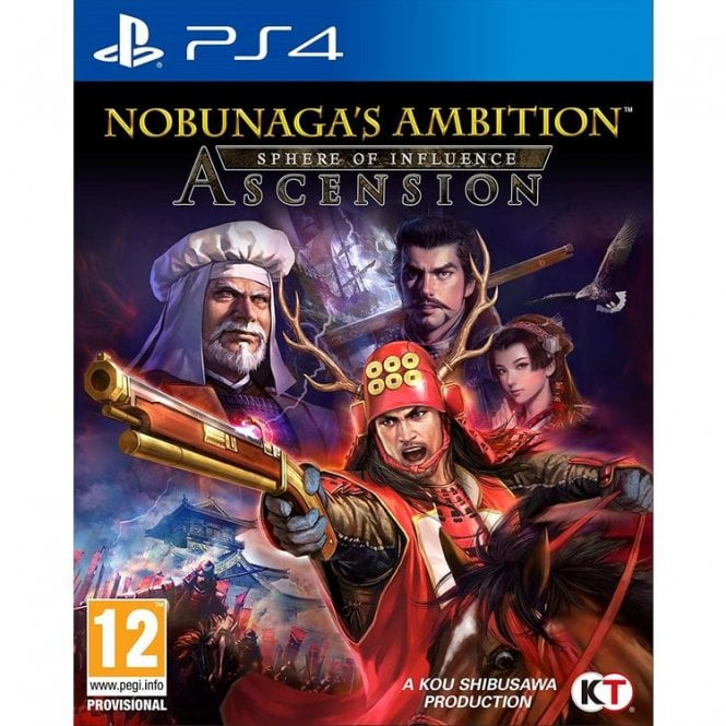 Nobunaga`s Ambition Sphere of Influence PS4