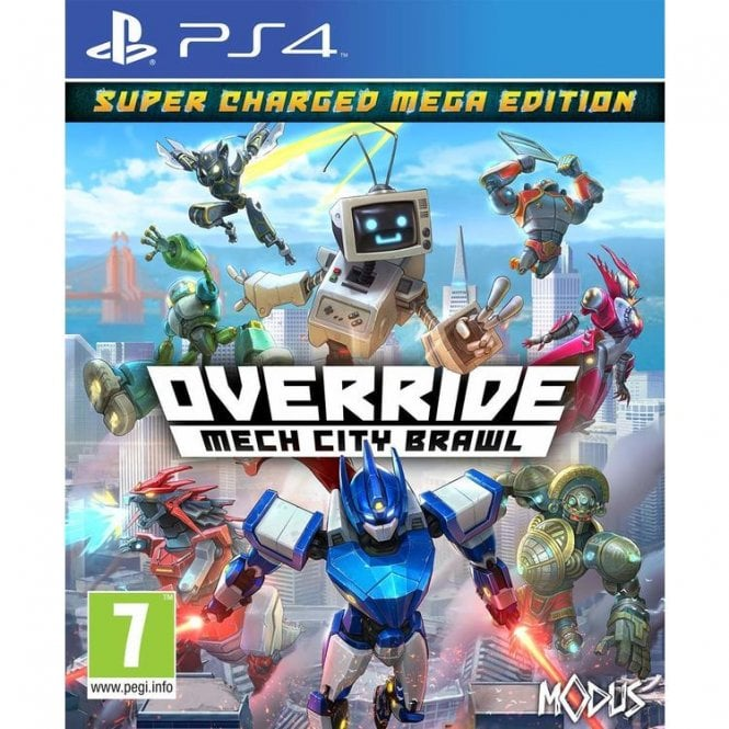 Override Mech City Brawl PS4