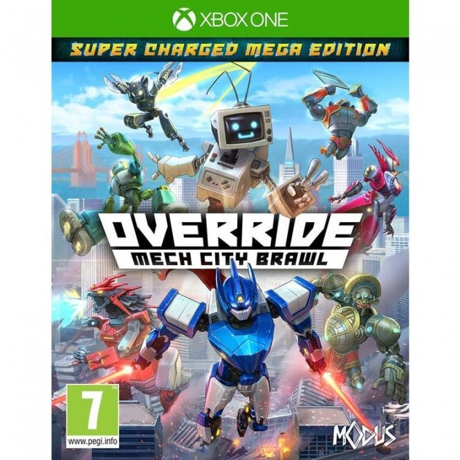 Override Mech City Brawl Super Charged Mega Edition Xbox